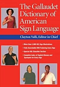 The Gallaudet Dictionary of American Sign Language [With DVD] (Hardcover)