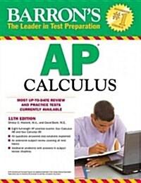 Barrons AP Calculus (Paperback, 11th)