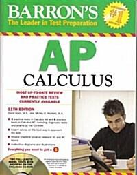 Barrons AP Calculus (Paperback, CD-ROM, 11th)