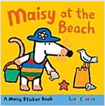 Maisy at the Beach: A Sticker Book (Paperback)