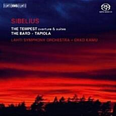 [수입] 시벨리우스 : 템페스트 서곡 & 조곡, 교향시 음유시인 [SACD Hybrid]