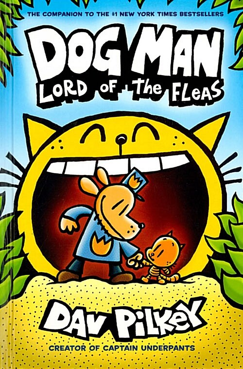 Dog Man #5 : Lord of the Fleas (Hardcover)