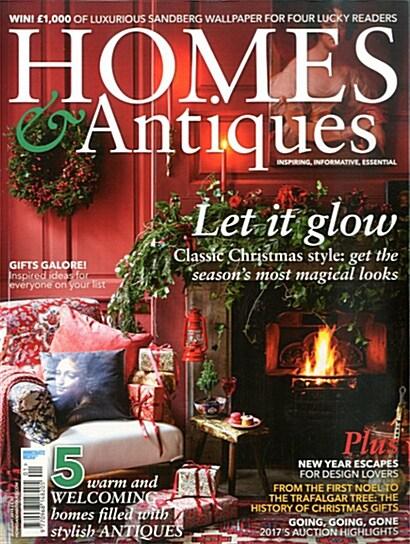 BBC Homes & Antiques (월간 영국판): 2018년 01월호