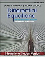 Differential Equations with Boundary Value Problems : Modern Methods and Applications (Paperback, 2nd Edition International Student Version)