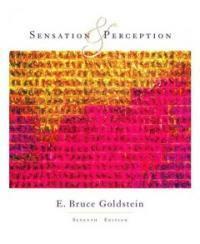 Sensation and perception 7th ed