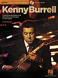 Kenny Burrell - Guitar Signature Licks (Paperback, Compact Disc)