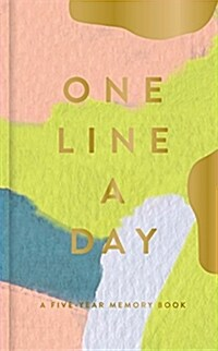 Modern One Line a Day: A Five-Year Memory Book (Daily Journal, Mindfulness Journal, Memory Books, Daily Reflections Book) (Other)