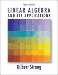 Linear algebra and its applications 4th ed