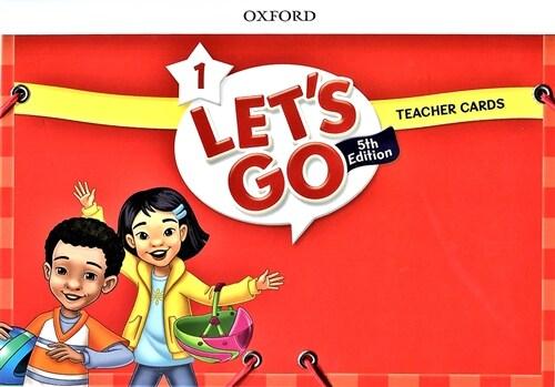 (5판)Lets Go 1: Teacher Cards (Cards, 5th Edition)