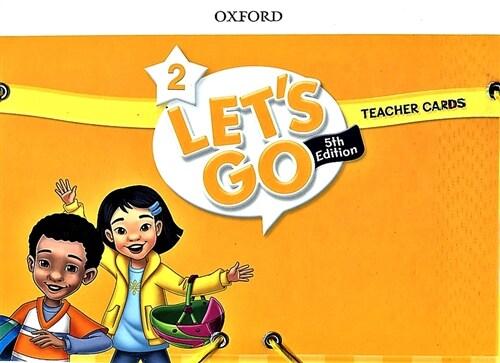 (5판)Lets Go 2: Teacher Cards (Cards, 5th Edition)