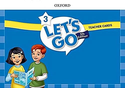 (5판)Lets Go 3: Teacher Cards (Cards, 5th Edition)
