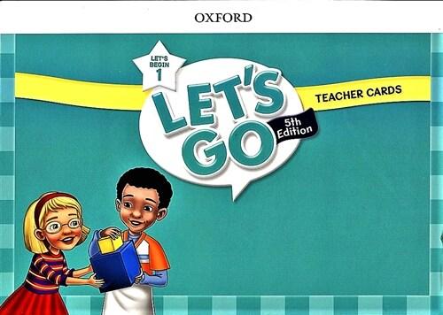 (5판)Lets Go Begin 1: Teacher Cards (Cards, 5th Edition)