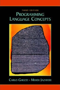 Programming language concepts 3rd ed