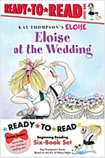 Eloise Ready-To-Read Value Pack: Eloise's Summer Vacation; Eloise at the Wedding; Eloise and the Very Secret Room; Eloise Visits the Zoo; Eloise Throw (Paperback, Repackage)