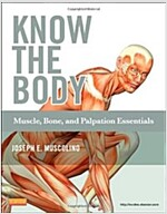 Know the Body: Muscle, Bone, and Palpation Essentials [With CDROM] (Paperback)