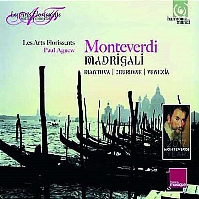 [수입] 몬테베르디 : 마드리갈집 (크레모나, 만토바, 베네치아) [3 for 2]