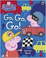 Peppa Pig: Go, Go, Go! : Vehicles Sticker Book (Paperback)