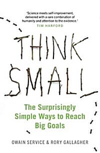 Think Small : The Surprisingly Simple Ways to Reach Big Goals (Paperback)
