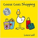 Goose Goes Shopping (book&CD) (Package)