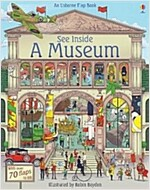 See Inside a Museum (Board Book)