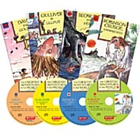 세상에서 가장 위대한 모험 이야기 New 4종세트 (Paperback 4권 + CD 4장)