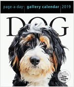 Dog Page-A-Day Gallery Calendar 2019 (Daily)