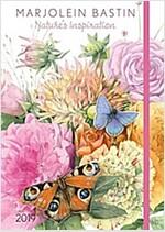 Marjolein Bastin 2019 Monthly/Weekly Planner Calendar: Nature's Inspiration (Desk)