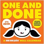 One and Done: A Nom Nom Paleo 2019 Wall Calendar (Wall)