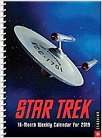 Star Trek 2018-2019 16-Month Engagement Calendar (Desk)