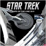 Star Trek Ships of the Line 2019 Wall Calendar (Wall)