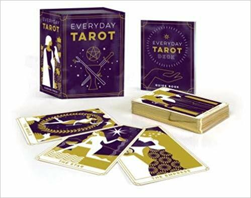 Everyday Tarot Mini Tarot Deck (78-Card Tarot Deck + An 88-Page Mini Book,)
