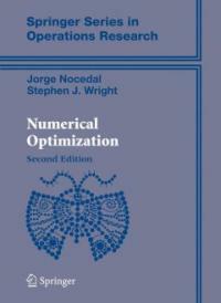 Numerical Optimization (Hardcover, 2, 2006)