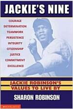 [중고] Jackie's Nine: Jackie Robinson's Values to Live by (Paperback)
