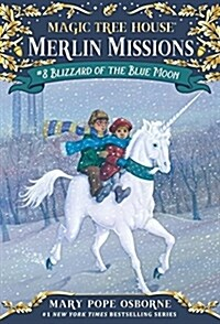 Merlin Mission #8 : Blizzard of the Blue Moon (Paperback)