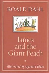 James and the Giant Peach (Hardcover, Rev)