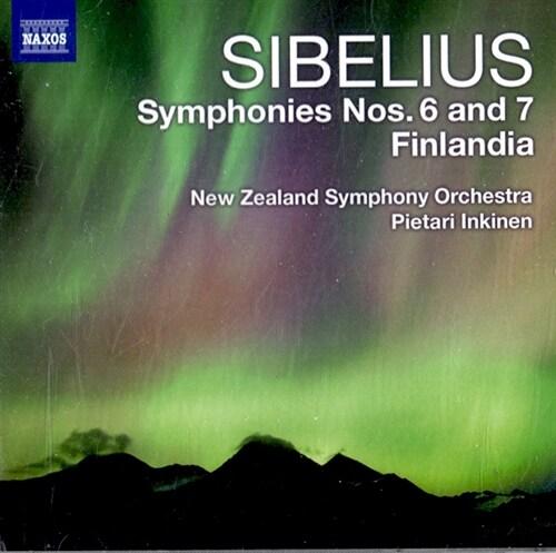 [수입] 시벨리우스 : 교향곡 6 & 7번, 핀란디아