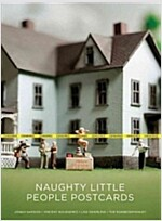 Naughty Little People Postcards (Paperback)