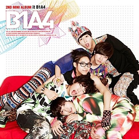 비원에이포 - 미니 2집 it B1A4 [Hard Cover CD + 100p화보]