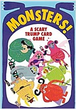 Monsters! : A Scary Trump Card Game (Cards)