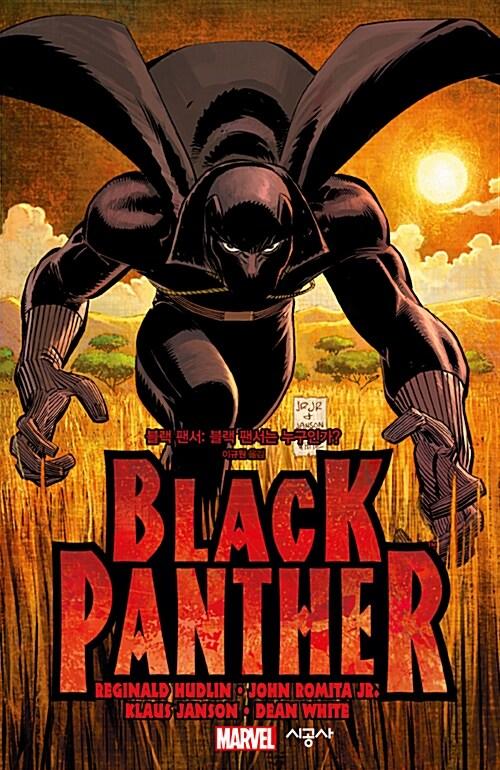 블랙 팬서 : 블랙 팬서는 누구인가?