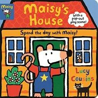 Maisy's House: Complete with Durable Play Scene (Board Books)