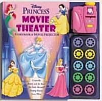 Disney Princess Movie Theater Storybook & Movie Projector (Hardcover)