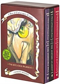 Box of Unfortunate Events: The Situation Worsens: Books 4-6 (Boxed Set)