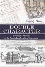 Double Character: Slavery and Mastery in the Antebellum Southern Courtroom (Paperback)