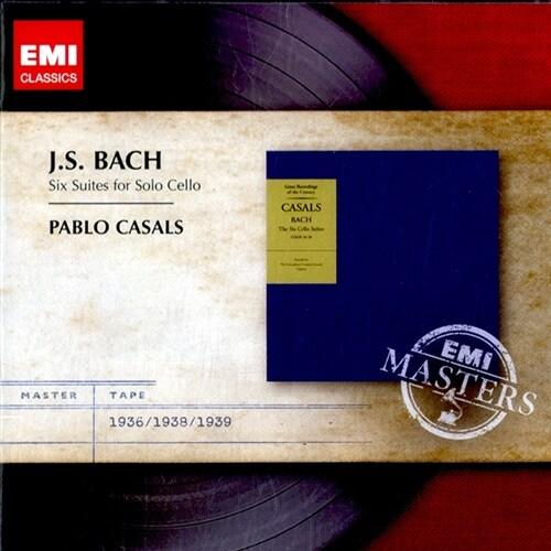 [수입] 바흐 : 무반주 첼로 모음곡 [2CD]