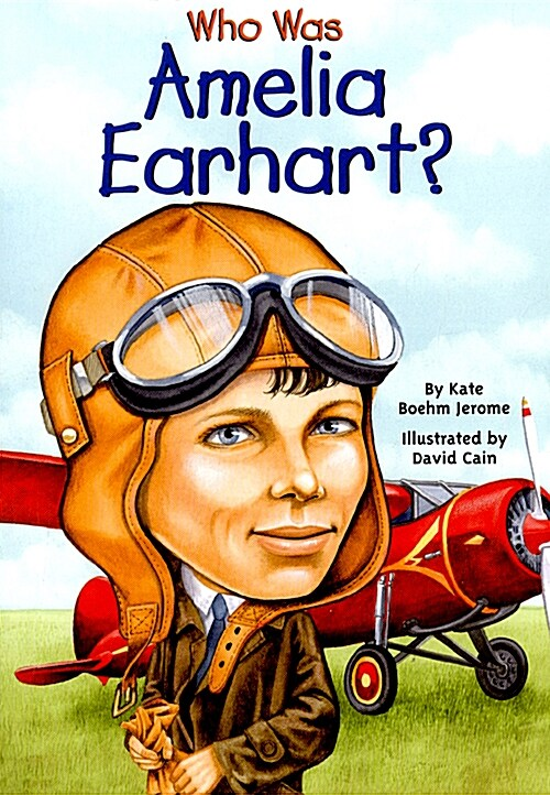 Who Was Amelia Earhart? (Paperback)