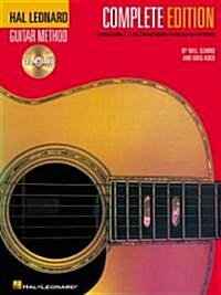 Hal Leonard Guitar Method, - Complete Edition: Books 1, 2 and 3 Bound Together in One Easy-To-Use Volume! (Plastic Comb)