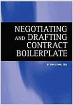 Negotiating and Drafting Contract Boilerplate [With CDROM and CD] (Paperback)