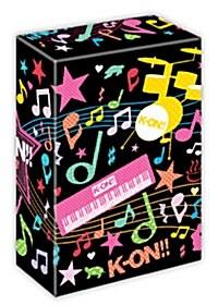 케이온!! 2기 하권 LE : 16~27화 번외편, 미방영분 포함판 (4disc + 필름컷 모양의 북마크 4종, 클래스 메이트 카드포함판)