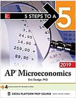 5 Steps to a 5: AP Microeconomics 2019 (Paperback)